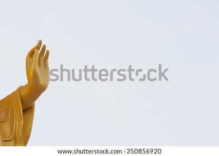 Buddha statue buddha image used as amulets of Buddhism religion - stock photo