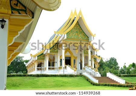 Buddha temple - stock photo