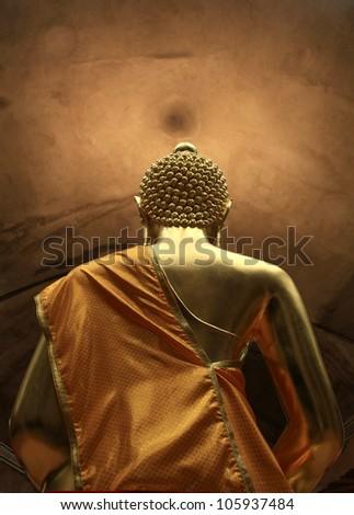 Buddha Thai culture. - stock photo