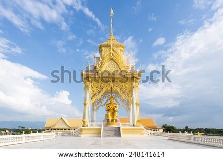 Buddhist Center, Chanthaburi, Thailand - stock photo