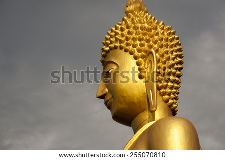 Buddhist culture and life style temple statues Asia