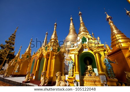 Buddhist temple ,Myanmar