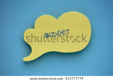 Budget Capital Finance Economy Investment Money Concept - stock photo