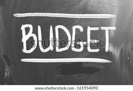 Budget Concept - stock photo