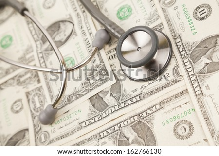 budget for health care - stock photo