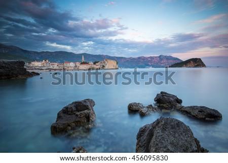 Budva, Montenegro - stock photo