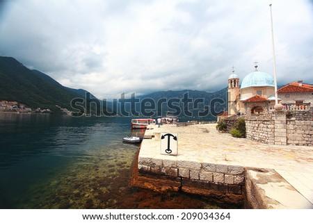Budva Montenegro Adriatic Sea - stock photo