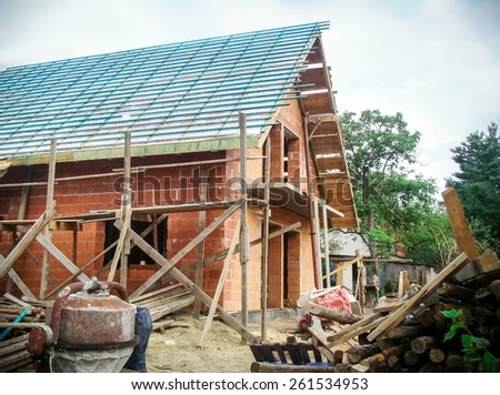 Building a new european style house