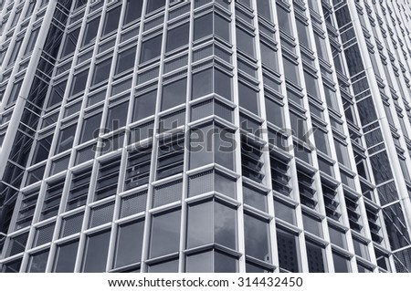 Building abstract - stock photo