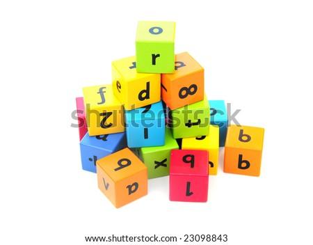 Building blocks - stock photo
