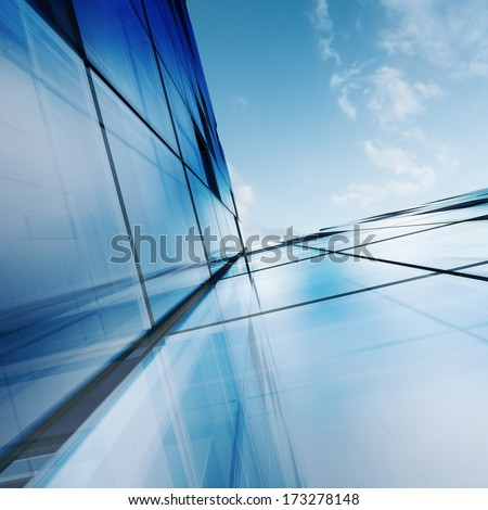 Building concept. Building design and 3d model my own - stock photo