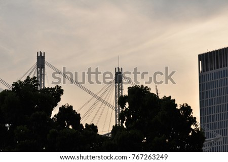 Building Construction Model Used Steel Frame Stock Photo (Royalty ...
