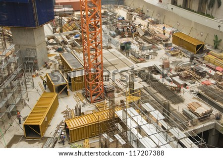 Building/Construction Site - stock photo