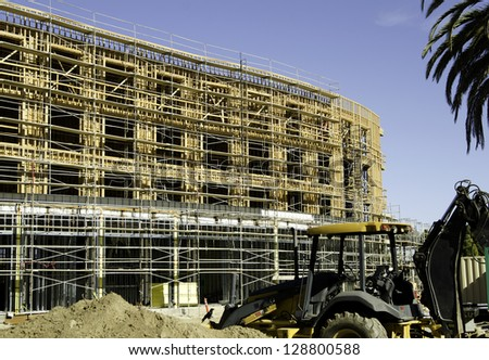 Building Construction site commercial residential