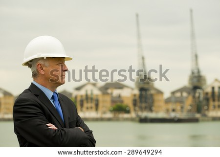 Building Contractor - stock photo