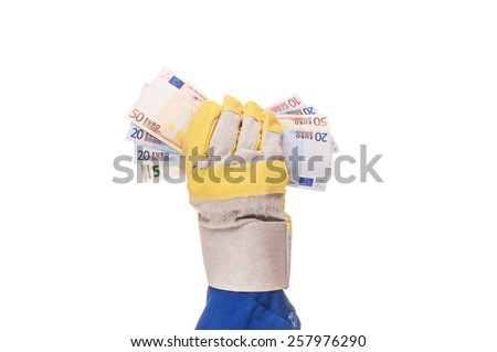 building cost - stock photo