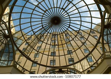 building dome - stock photo