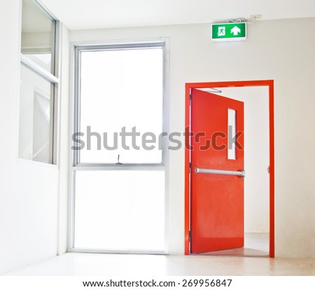 Exit Door Stock Images Royalty Free Images Amp Vectors