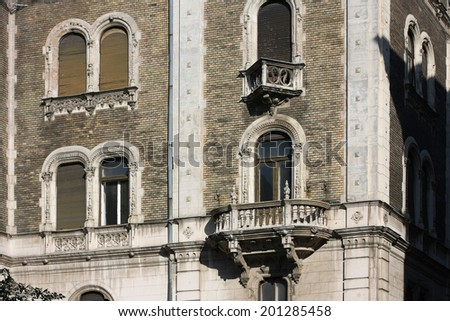 building front  - stock photo