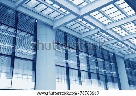building in airport - stock photo