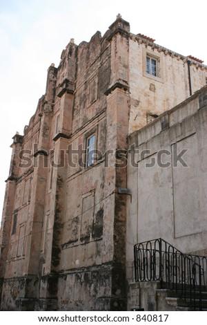 Building in Dubrovnik, Croatia. - stock photo