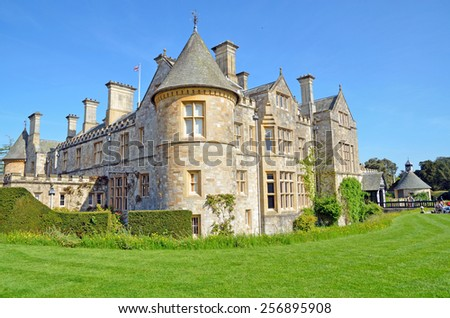Building in England - stock photo
