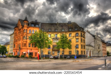 Building in Koblenz - Germany, Rhineland-Palatinate - stock photo