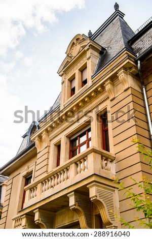 Building in  Luxembourg city, Luxembourg