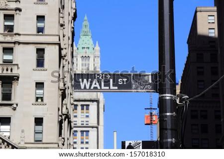 Building in New York - stock photo