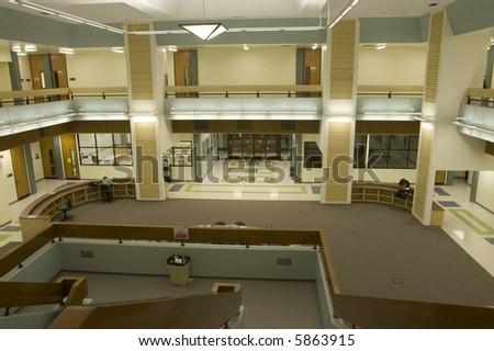 Building Interior - stock photo
