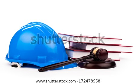 building law - stock photo