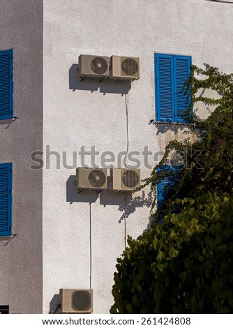 building.  Montenegro - stock photo