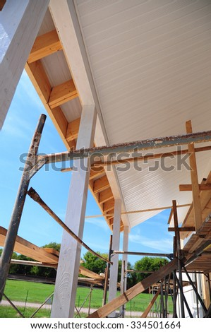 Roof Soffit Framing Amp Four Options For Securing Soffit