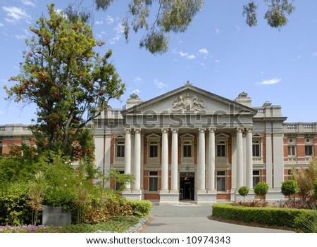 Building of the Supreme Court of Western Australia - stock photo