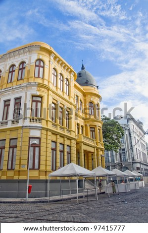 Building on the ancient Recife - Pernambuco - Brazil