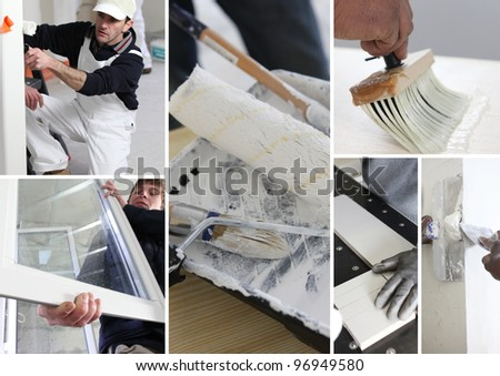 Building professionals - stock photo