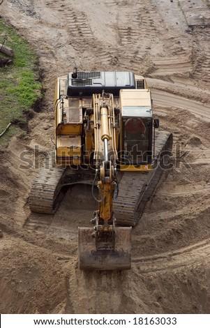 Building Scoop - stock photo