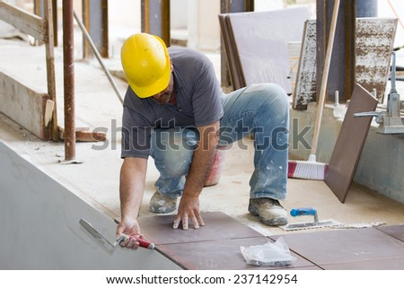building site - stock photo