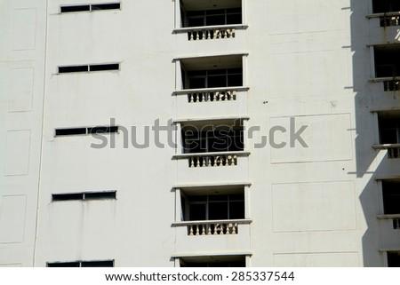 Building texture - stock photo