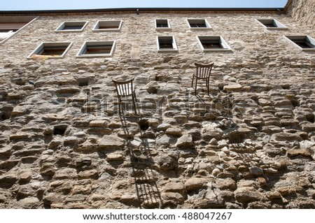 Building Wall - Besalu - Spain