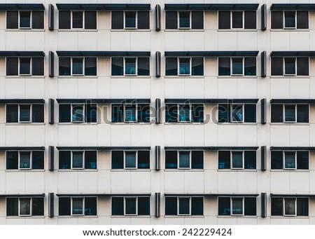 Building window - stock photo