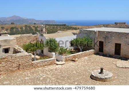 Buildings at Ancient Aptera