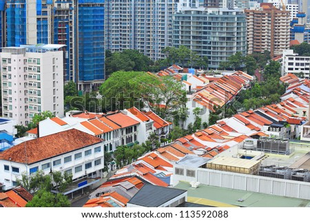 buildings at Singapore