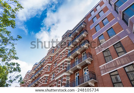 Buildings of New York City. - stock photo