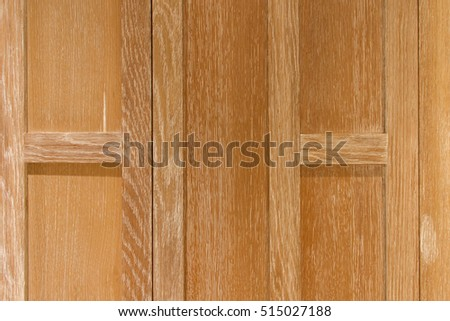 Built-in wood for the background