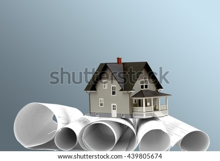 Built Structure. - stock photo