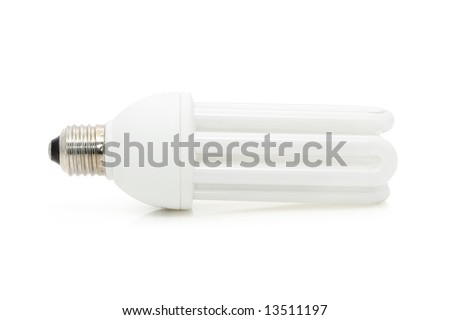 Bulb isolated over white background