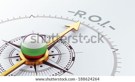 Bulgaria High Resolution ROI Concept - stock photo