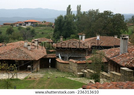 Bulgarian village - 26 - stock photo