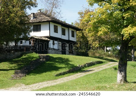Bulgarian village - 4 - stock photo